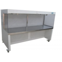 Quality Horizontal Laminar Air Flow Cabinet / Clean Bench Class 100 Cleanliness Level for sale