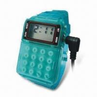 Quality Radio Watch with 8-digit Calculator, Various Colors are Available for sale