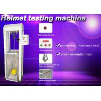 Quality Safety Helmet Shock Absorption And Penetration Tester , Helmet Lateral Rigidity Tester for sale