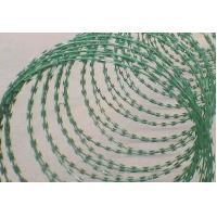 Quality Hot Dipped Galvanized PVC Coated Razor Barbed Wire for sale