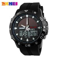 Quality Plastic Analog Digital Wrist Watch 30M Water Resistant With Japanese Battery Rotating Bezel for sale