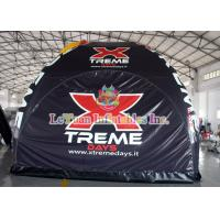 Best Stable Tarpaulin Inflatable Camping Tent , Trade Show Tent With Spider wholesale