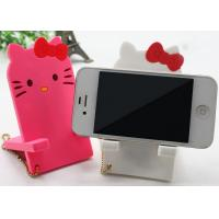 Quality Small 3D Cartoon Silicone Mobile Phone Holder 115 x 60 x 6mm Universal for sale
