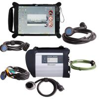 Quality MB SD Connect Compact 4 Star Diagnosis Tool With WiFi 2015.07 Plus EVG7 Diagnostic Control for sale