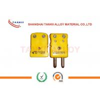 Best IEC standard Thermocouple Cable , Solid Pin k thermocouple connector wholesale