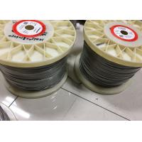 Best 0.05mm - 12mm Nichrome Alloy Heating / Resistance Alloy Nicr 80/20 Wire 19 Strands wholesale
