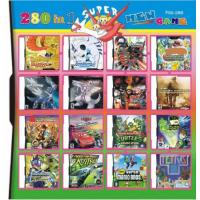 Buy cheap 280 in 1 280 in one Multi games Card for DS/DSI/DSXL/3DS Game Console from wholesalers