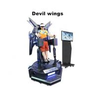 Quality Youngers VR Flight Simulator , Virtual Reality Platform 9D VR Devil Wing for sale