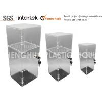 Quality China Inejction Molded Clear Plastic Display Shelving with Lock for sale