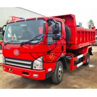 Quality 3 Cubic 6 Wheeler Tipper Truck , 3 - 5 Tons Light Duty Dual Axle Dump Truck for sale
