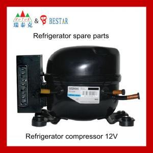 Quality r134a refrigerator 12v/24v DC compressor for sale
