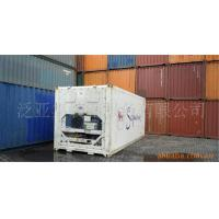 China Metal Used Reefer Container / 20 Foot Refrigerated Container on sale
