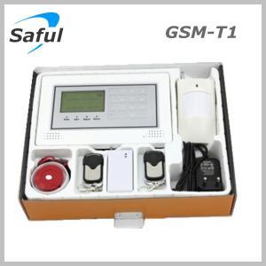 Quality Saful GSM-T1 GSM alarm system Anti-thief alarm burglar alarm system for sale
