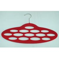 Best flocked scarf hanger,35.5cm x 24cm x0.55mm(T) ,red,green,ABS plastic,SCARF HOLDER wholesale