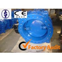 Quality Ductile Iron EPDM Lined Electric Actuator Butterfly Valve Actuator Manual for sale