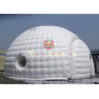 Best Sealed Type Dome inflatable Igloo / Bubble Tent For Wedding Rental wholesale