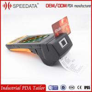 Quality Smart Card Mobile Rfid Reader Biometric Android Fingerprint Scanner Printer for sale
