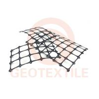 Quality Durable Geogrid For Road Construction , Vertical Walls Biaxial Integral Geogrid for sale