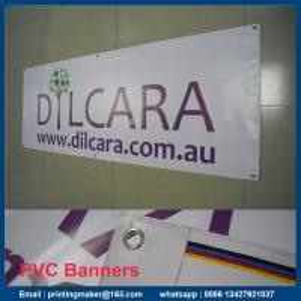matte vinyl banners