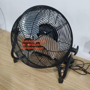 "Quality 20"" rechargeable high velocity floor fan with 3 speeds/20 inch Ventilador de piso de alta velocidad for sale"