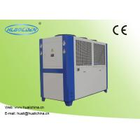 Quality 9.2~142.2 KW Industrial Air Cooled Water Chiller Galvanized Sheet Shell for sale