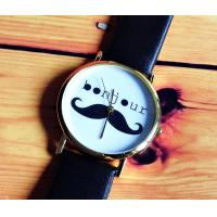 Best HOT SALE Cute Moustache Leather Watch wholesale