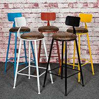 Smashing industrial bar stool  with cushio\Factory wholesales stool\power coated Coffe room stool