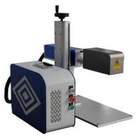 Quality Handheld 3d Laser Marking Machine Small Volume No Consumables 30 Watts for sale