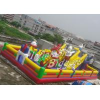 Quality Backyard Children Inflatable Fun City Inflatable Game Toys For Birthday Party for sale