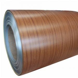 Quality 6.0mm Wood Grain Aluminum Coil for sale