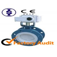 Quality Electrically Operated Flange Butterfly Valve for sale