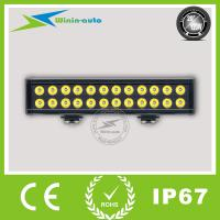 "Best 20"" 120W Double Row Spot Beam LED Light bar for Bulldozer 9000 Lumen WI9026-120 wholesale"