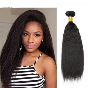10-30 Inch Deep Wave Human Hair Weave , 9A Grade Deep Body Wave Peruvian Hair