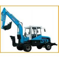 Quality 0.4m3 Compact Wheel Excavator for sale
