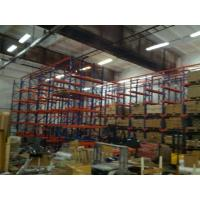 Quality Heavy Duty Industrial Warehouse Drive In Racking System 800 - 1400mm Width for sale