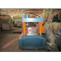 Quality Galvanized Iron C-purlin Roll Forming Machine with Middle Production Capacity for sale