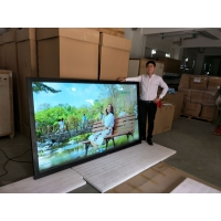 Quality 400cd/m2 3840*2160 LCD Advertising Digital Signage 0.284mm Pixel for sale