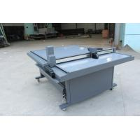 Quality Garment Pattern Cloth Sample Cutting Machine With Continuous Inkjet Printing System for sale