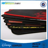 China Custom Printed Rubber Mouse Pad / Sublimation Mousepad with Stitching Edge on sale