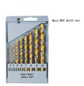 Quality JWT 8PCS HSS Twist Drill Set ,Drill bit set for sale