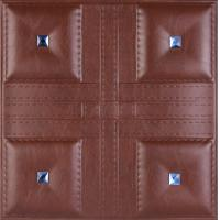 Buy Embossed 3D Wall Panel for decor;Embossed 3D leather carving Wall Panel at wholesale prices