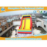 China Inflatable Sliding Water Commercial Inflatable Water Slide For Adults on sale