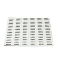 Quality EAS Electronic AM Black Adhesive Soft Label And Tag Retail Security Soft Tag for sale