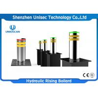 Quality Ss Rising Road Blocker , Automatic Lifting Retractable Security Bollards for sale
