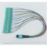 China 24 Cores Fanout Mpo To 24 Lc Optical Patch Cord , Mpo Patch Cord Fiber Optic on sale