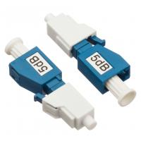 Quality Simplex Single Mode Attenuator LC / PC Plug Fixed Type  5dB For CATV / Datacom for sale