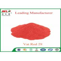 Quality Deep Dyeing Chemical Dyes C I Vat Red 29 Vat Scarlet R Vat Dyes And Pigments for sale