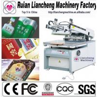 2014 Advanced 4 color 4 station t-shirt screen printing machine