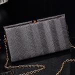 Quality Custom fashion women clutch bag sample design high quality lady evening bag for sale