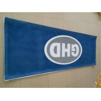 Fire Resistant Printed Outdoor Mesh Banners And Signs In High Wind Environments